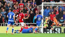Middlesbrough's Gaston Ramirez scores his side's first goal
