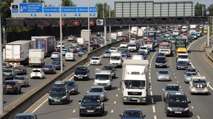 The M25 has frequently been dubbed the UK's largest car park