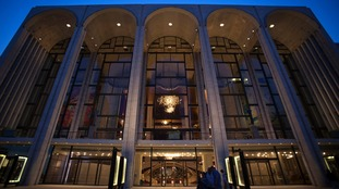 The Metropolitan Opera in New York.