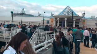 Bluewater open for business after evacuation