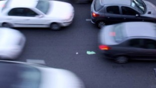 Slow traffic on the M6 Southbound due to an accident.