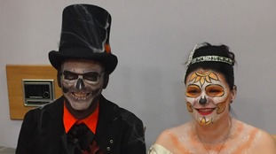 Worksop couple go all out with Halloween-themed wedding