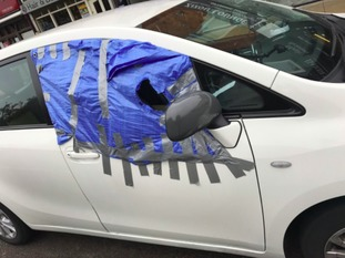 "Police were surprised by this ""interesting"" approach by a driver in Northampton."