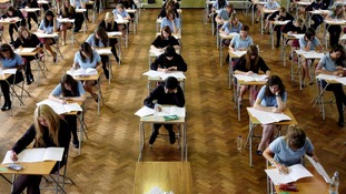 "Ofqual has said teachers in some of England's secondary schools were guilty of ""significantly"" over-marking pupils' GCSE English work."