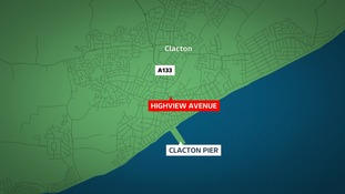 A motorcyclist has died in Clacton.