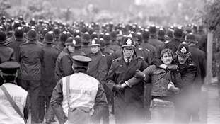 What was the Battle of Orgreave?