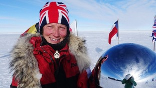 British woman's South Pole world record attempt in jeopardy due to airport strikes