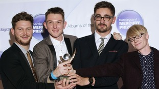 The four-piece band won the award for their album An Awesome Wave.