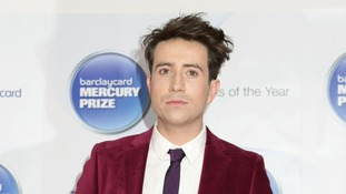 Radio 1 DJ Nick Grimshaw pictured at the awards evening.
