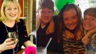 Tracey Houghton, 45, Ethan Houghton, 13, Josh Houghton, 11, and Aimee Goldsmith, 11, were all killed.
