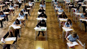 The damning report suggests that some secondary school teachers were over-marking pupils.