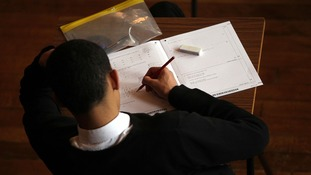 English GCSEs are 'overmarked', according to regulator Ofqual.