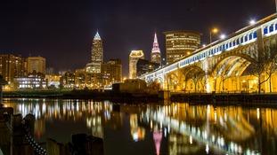 Cleveland in Ohio.