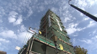 Restoration of 'most magnificent clocktower in Kent' almost complete