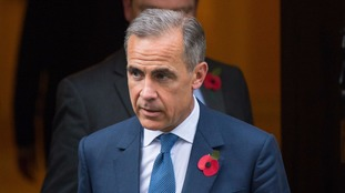 Mark Carney said he would be extending his term at the bank