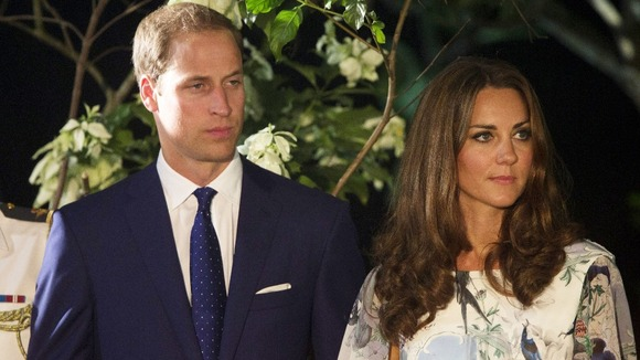 william and kate 39 officer 39 accidentally fires gun outside
