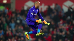 Stoke City goalkeeper Lee Grant