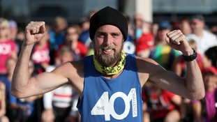 401 Runner Ben Smith awarded Pride of Britain