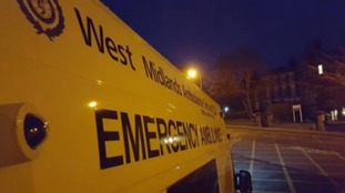 Trapped woman suffers serious facial injuries