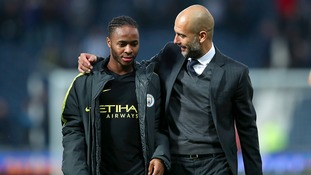 Sterling loving life under City coach Pep