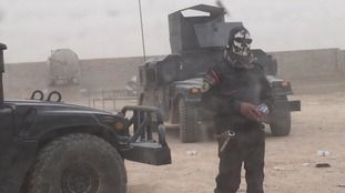 Iraqi special forces are just a few kilometres from Mosul
