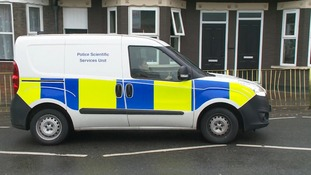 Police forensics teams have been working at the scene of the shooting in Dallow Road, Luton.