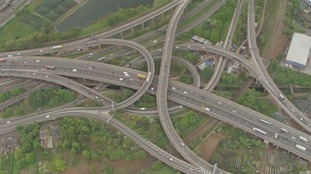 Road closures on spaghetti junction completed ahead of schedule