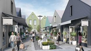 Amended plans for Grantham Designer Outlet Village to go on show