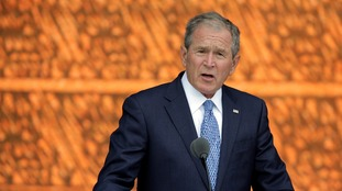 Former Republican US president George W Bush 'may vote for Hillary Clinton'