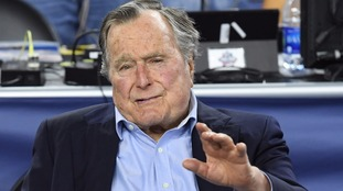 Former president George HW Bush is said to be backing Clinton