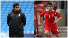 Chris Coleman and Ched Evans