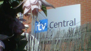 The weather garden at ITV Central's Nottingham studio