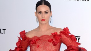 Last year's number one Katy Perry landed in sixth place.