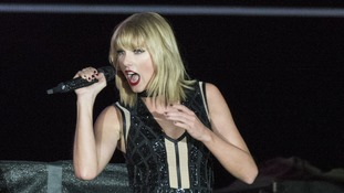 Taylor Swift's 1989 world tour earned her $250 million.