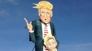 Trump guy to be burned at Edenbridge bonfire