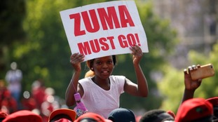 Many civilians are calling for Jacob Zuma to be ousted