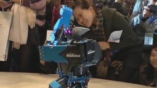 Gangnam Style dancing robot