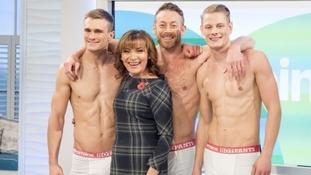 Lorraine's 'Hot Pants' winner is 39-year-old Cardiff man