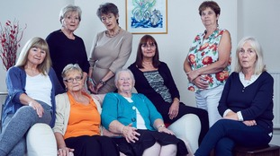 Women from the Leeds Birth Families group who all had their children adopted at a very young age.
