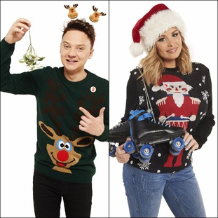 Conor Maynard and Jess Wright