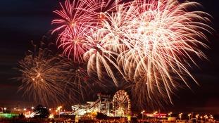 Skegness fireworks