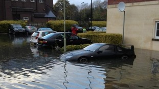 Flooding in Bridgend