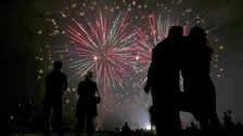 Firework displays in our region