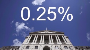 The Bank of England has left interest rates unchanged since August.