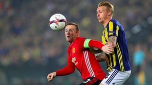 Europa League match report: Fenerbahce 2-1 Manchester United