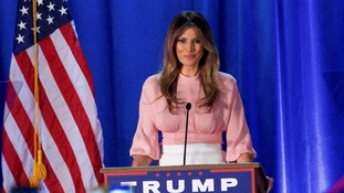 Melania Trump makes last minute appeal before next week's election