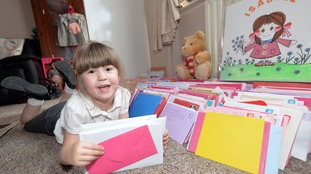 Christmas card appeal for little girl fighting a heart condition