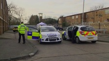 Vilson Meshi's body was found in his car in Basildon.