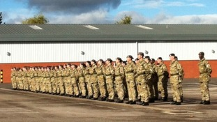 A Royal Reward for Army Medics returning from Afghanistan