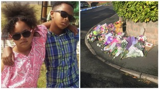 Balloon tribute for young brother and sister who died in house fire